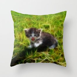 Wild Thing, you make my heart sing  Throw Pillow