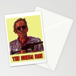 The Omega Man Stationery Cards