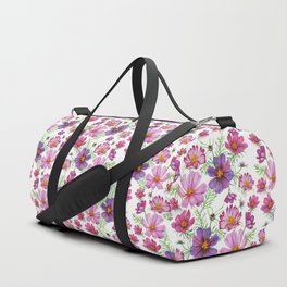 Watercolor cosmo Duffle Bag