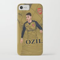 arsenal iPhone & iPod Cases featuring Mesut Özil by siddick49