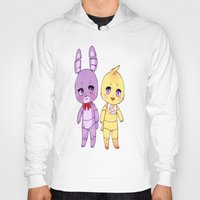 fnaf Hoodies featuring FNAF  by Aribunni