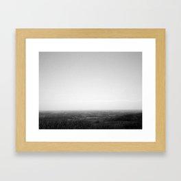 Inspiration Peak Framed Art Print