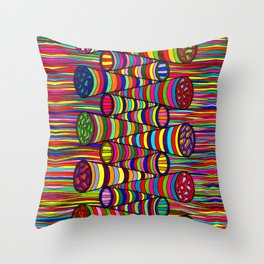 209 Throw Pillow