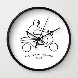 Vietnam racing boy Wall Clock
