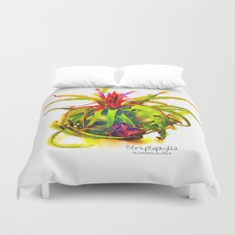 Tillandsia Streptophylla Air Plant Duvet Cover