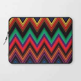 Zigzag Crochet Abstract Pattern Laptop Sleeve