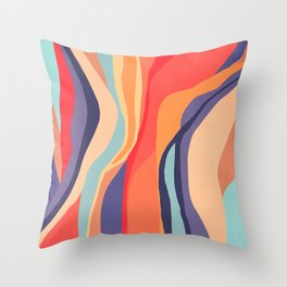 Psychedelic pattern 03 Throw Pillow