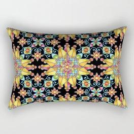 Sunshine Arabesque Rectangular Pillow