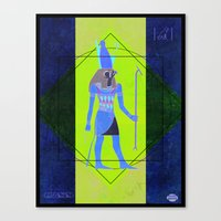 egypt Canvas Prints featuring Egypt by PatinoDesigns
