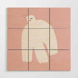 White Dove Wood Wall Art