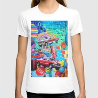 cars T-shirts featuring Cars by John Turck