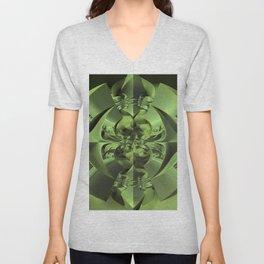 Cool Green of Summer Unisex V-Neck