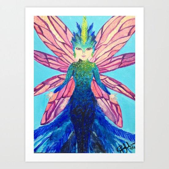 The modern tooth fairy Art Print