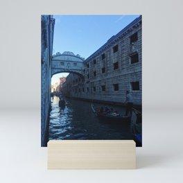 Bridge of Sighs II Mini Art Print