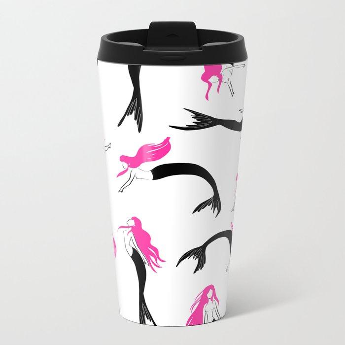 Mermaids Metal Travel Mug
