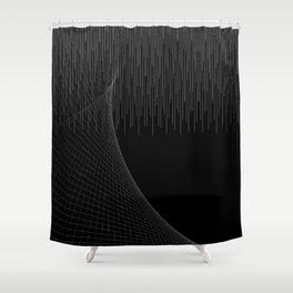 Matrix Void Shower Curtain
