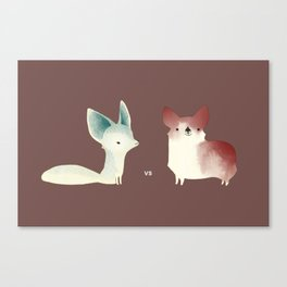 vs Canvas Print
