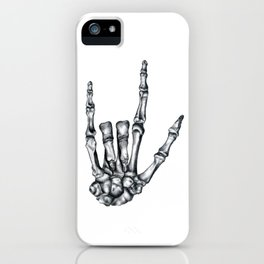 Love Never Dies iPhone Case