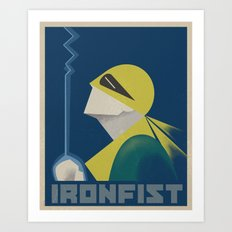 IronFist - Yong spirit Art Print