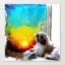 Faithfulness of routine Canvas Print