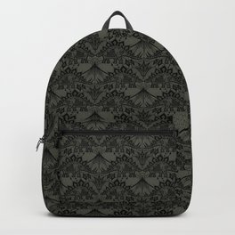 Stegosaurus Lace - Black / Grey Backpack