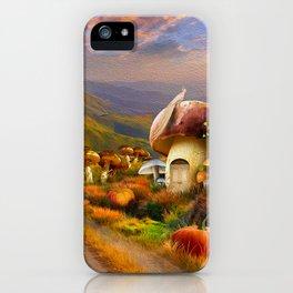 Hidden Village iPhone Case
