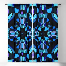 Stained Glass Abstract Blackout Curtain