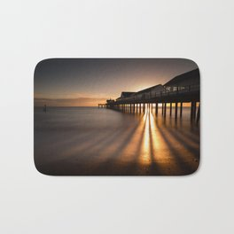 Southwold Pier - Sunrise Bath Mat