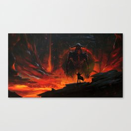 Summoner Canvas Print