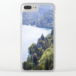 Slovenian Forrestation Clear iPhone Case