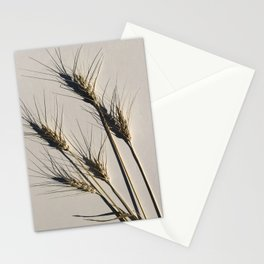 prairie wheat Stationery Cards