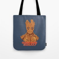 groot Tote Bags featuring Groot  by bookotter
