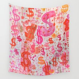 Barbie Money Wall Tapestry
