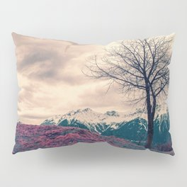 Japanese Mountains Pillow Sham
