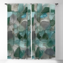 An Ocean of Mermaid Tears Blackout Curtain