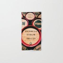 Guinness Barrels Hand & Bath Towel