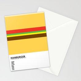 Pantone Food - Hamburger Stationery Cards