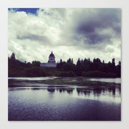 Washington State Capitol Canvas Print