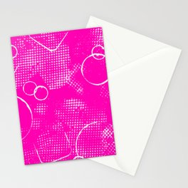 Texture #26 in Hot Pink Stationery Cards