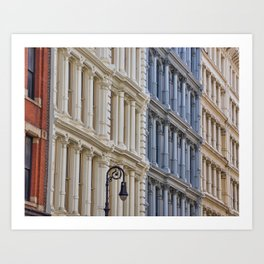 Soho Architecture Art Print