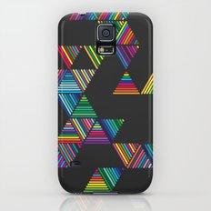 Rainbow Night Rain Slim Case Galaxy S5