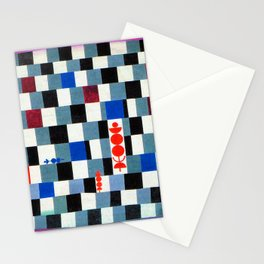 Paul Klee Super Chess Stationery Cards