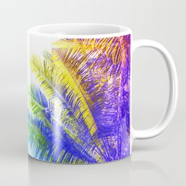 Fantasic Rainbow Palm Tree Coffee Mug