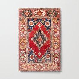 Transylvanian Manisa West Anatolian Niche Carpet Print Metal Print