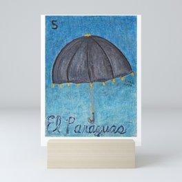 El Paraguas Mini Art Print