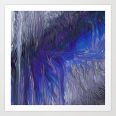 Fragment 20: Resting in Flow Art Print