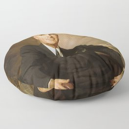 President Harry Truman Floor Pillow