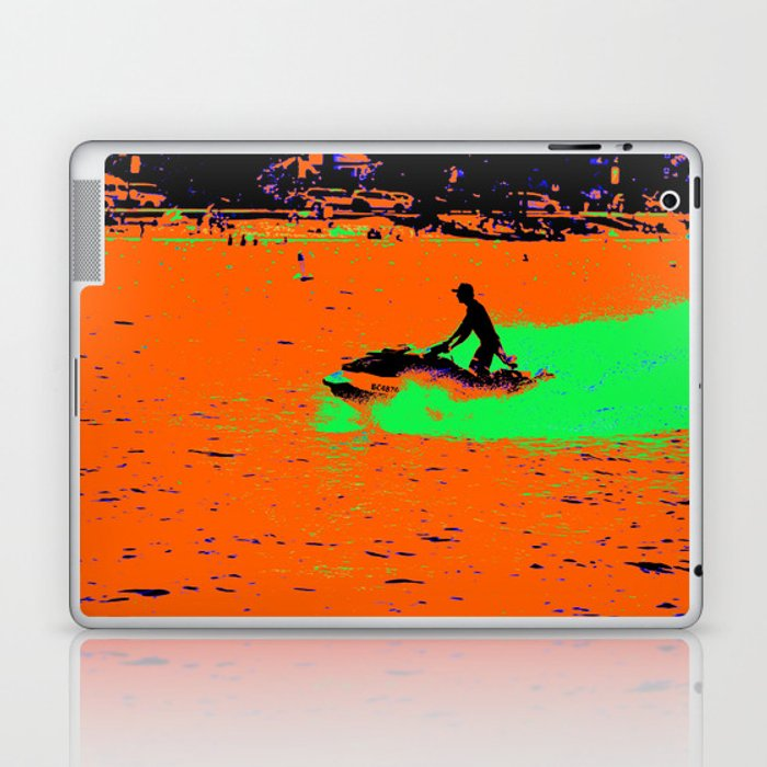 Summer Jetting - Jet Ski Fun Laptop & iPad Skin