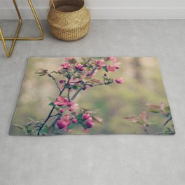 crabapple blossom dream Rug