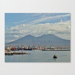 Mt. Vesuvius Canvas Print